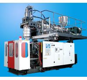 Adopt accumulator die head extrusion blow molding machine 20L chemical tank