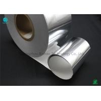 Buy cheap Silver Moisture - Proof Aluminium Foil Paper With White Backing Base Paper For Premium Cigarette Packaging product