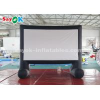 Quality Portable Inflatable Movie Screen With Air Blower For Backyard / Parks for sale