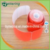 China Pre cut Kinesiology tape red colour on sale