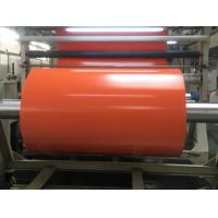 Buy cheap 1000D Flame Retardant Orange PVC Tarpaulin Fabric Roll For Cover , Shade , Tent product
