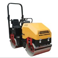 Buy cheap 2 Ton Hand Road Roller , Stable Running Diesel Road Roller 30% Grade Ability product