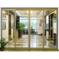 Buy cheap Heavy Duty Bypass Sliding Door, Interior Partition Sliding Door With Glass For from wholesalers