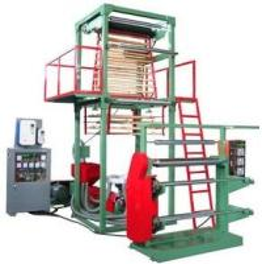 Buy cheap PE EVA Film Extrusion Machine 1 Layer Blown Film Machine Simple Reliable product