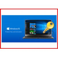 Quality 100% Genuine Product OEM Key , Win 10 Pro OEM Key License 32 / 64 Bit for sale