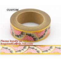 Buy cheap foil tape custom printed decorative washi foil tape,Assorted Designs Christmas Washi Masking Tape,Logo Printed Gold Foil product