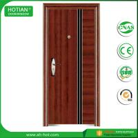 Buy cheap High quality factory manufacturer entry single leaf steel security doors residential product
