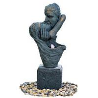 """Buy cheap 36"""" Kissing Lover Antique Color Copper Water Fountains In Magnesia Material product"""