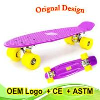 22 inch classic cruiser skateboard with CE for New Year