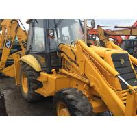 Buy cheap Original Paint Used Tractor Front End Loaders JCB 3CX Twin Gear Pump 82.6 Hp product