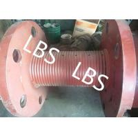Buy cheap 3000m Rope Capacity Wire Rope Winch Drum With Helix Groove , ABS GL Listed product