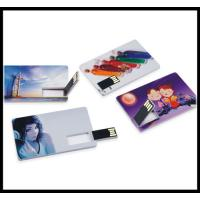 Buy cheap business trip usb flash 2016 full capacity flash drive credit card usb flash drive product