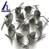 Buy cheap vacuum coating 0.8mm*3-Strand pure twisted tungsten wire for sale product