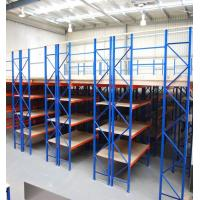 China Custom Heavy Duty Steel Rack / Mezzanine Floor Attic Storage Shelves on sale