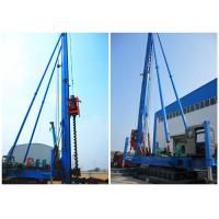 Buy cheap Screw Borehole Drilling Rig Max Depth 34meters Crawler Movement Way product