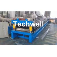 Buy cheap Main Motor Power 7.5kw Roofing Sheet Making Machine / IBR Profile Roll Forming Machine product