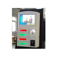 Buy cheap Magstripe Card / IC Card / Member Card Accepted Cell Phone Charging Station with 19 Inch Touch Screen product