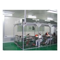 Buy cheap Aerospace / Electronics Softwall Clean Room Chamber With HEPA Air Filter 110V / 60HZ product