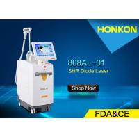 China FDA Approved Laser Hair Removal Machines 808nm diode laser 13 * 15mm Spot Size wholesale