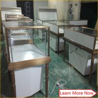 Buy cheap Fashion jewelry shop decoration,jewelry display shop furniture in stainless steel product