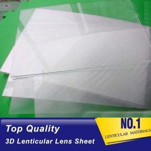 Buy cheap Plastic  Lens PS/PET/PP Material 75/100/161 Lpi 3d lenticular lens sheet lenticular printing films with 3d flip effect product