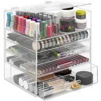 Buy cheap New clear acrylic makeup organizer storage display product