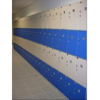 Buy cheap PVC Material Blue School Lockers Durable Four Tier Lockers For Swimming Pool product