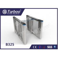 Buy cheap Office Security Entrance Swing Turnstile Barrier Gate RFID Card Reader product