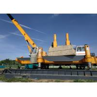 Buy cheap High Speed And Efficiency Hydraulic Static Pile Driver , Precast Concrete Pile Driving With No Noise product