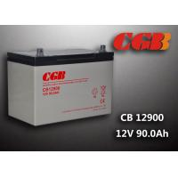 Buy cheap 12V 90ah Solar System Battery , CB12900 Agm Battery Low Self Discharge product