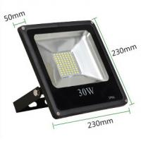 Buy cheap 30W led reflector led lamp dimmable flood lighting black grey aluminum housing single 110V product