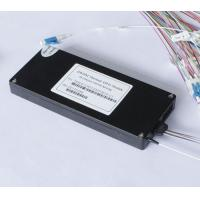 Buy cheap Low Insertion Loss Athermal AWG Arrayed Waveguide Grating DWDM Fiber Multiplexer product