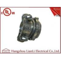China Wiring Glad Zinc Die Casting Romex Connector Brass Electrical Wiring Accessories on sale