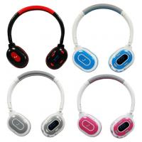 China Colorful DJ Wireless Headphone Mp3 Card Headphone on sale