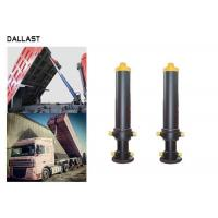 Buy cheap Single Way Telescopic Hydraulic Cylinder 3 Bore Multistage Hydraulic Ram For Dump Truck product