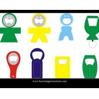 Buy cheap Made in China Eco-friendly promotiona metal with PVC beer bottle opener product