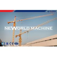 Buy cheap QTZ63 5610 Small Tower Crane Safety / Building Tower Crane 5T product