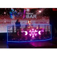 Buy cheap 7mm Glass Transparent LED Screens Rental Billboard Excellent Heat Sinking product