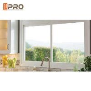 Buy cheap Aluminium Frame Modern House Windows , 5 + 9 + 5mm Thickness Aluminium Glass Window interior sliding window triple product