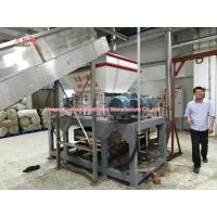 Buy cheap High Speed Wood Pallet Shredder Machine Two Shaft 3000kg - 36000kg Weight product