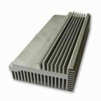 Buy cheap Clear 6063-T5 Aluminum LED Heat Sink Extrusion Profiles With Tapping / Stamping product