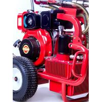 Buy cheap Hydraulic Diesel Piston Pump Sprayer Airless Paint Equipemnt 13.5L/Min Putty from wholesalers