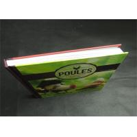 Buy cheap Eco-friendly Greyboard Hardcover Book Printing Services Embossing 1800gsm product