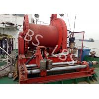Buy cheap High Efficient 20 Ton Anchor Marine Electric Winch With Spooling Device product