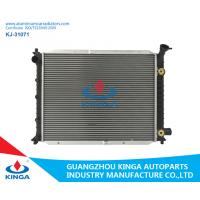 Buy cheap Silver Ford Aluminum Radiator , 2002 Ford Escort Cooling System Brazing Auto Car from wholesalers