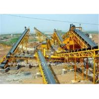 Buy cheap Automatic Ship Discharging Moving Belt Conveyor Industrial Mining Equipment 1600mm Guard Side Height product