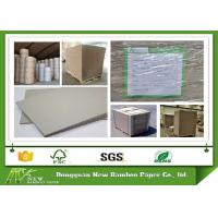 Buy cheap Gray Color Strawboard Paper in 1100gsm / 1.78mm Laminated Paperboard product