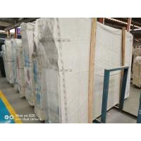 Buy cheap Honed Home Marble Stone Tile / White And Grey Marble Floor Tiles product