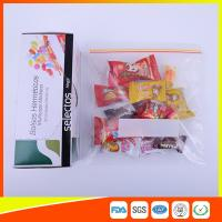 Buy cheap Durable Plastic Ziplock Snack Bags For Candy / Biscuits Storage Food Grade product