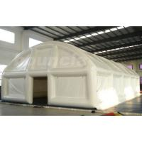 China  0.9mm PVC Tarpaulin Air Sealed  Tent , White Color Tent For Event  for sale